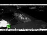 Съёмка с вертолёта ФБР, по захвату чеченского террориста Джохара Царнаева